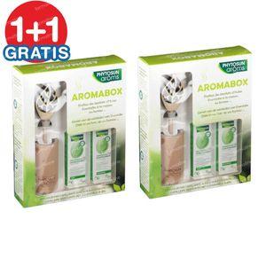 Phytosun Aromabox - Cappilaire Verstuiver + Eucalyptus Radiata & Lavendel Officinalis 1+1 GRATIS 2x1 set