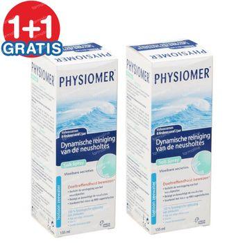 Physiomer Soft Spray 1+1 GRATIS 2x135 ml oplossing