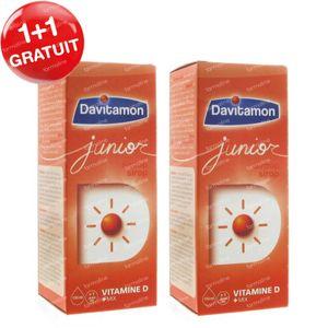 Davitamon Junior 1+1 GRATIS 2x150 ml siroop