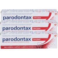 Parodontax Original Dentifrice au Fluor TRIO 3x75 ml