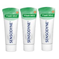 Sensodyne Dentifrice Fresh Mint TRIO 3x75 ml