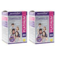 Mannavital Vitamine D3 Platinum Pearls DUO 180  parels