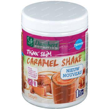 Damhert Think Slim Repas shake Caramel avec Tagatose 520 g