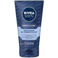Nivea Men Protect & Care Gezichtsscrub 75 ml