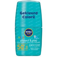Nivea Sun Kids Protect & Play Gekleurde Roll-On Groen SPF50+ 50 ml
