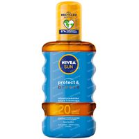 Nivea Sun Protect & Bronze Olie Spray SPF20 200 ml