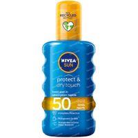 Nivea Sun Protect & Dry Touch Transparentes Sonnenspray LSF50 200 ml
