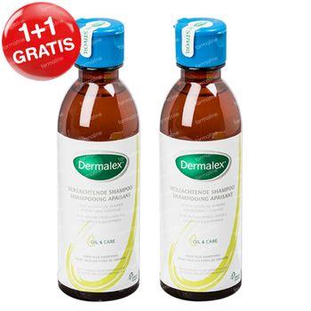 Dermalex Verzachtende Shampoo 1+1 GRATIS 2x250 ml