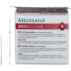 Medisana Teststrips voor Meditouch2 50 stuks