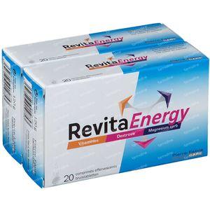 RevitaEnergy 1+1 GRATUIT 2x20 comprimés