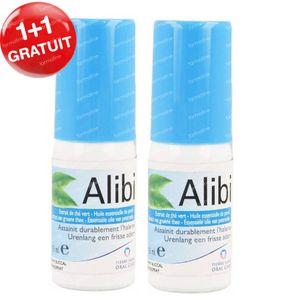 Alibi Spray 1 + 1 GRATUIT 2x15 ml