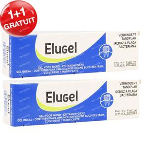 Elugel Gel Buccal 1 + 1 GRATUIT 2x40 ml