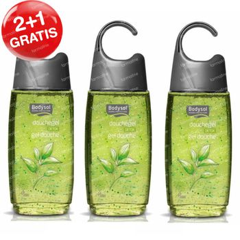 Bodysol Douchegel Detox 2+1 GRATIS 3x250 ml