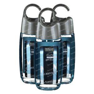 Bodysol Men 2-in-1 Douchegel Nordic Breeze 2+1 GRATIS 3x250 ml