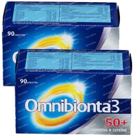 Omnibionta 3 50+ DUO 2x90  comprimés