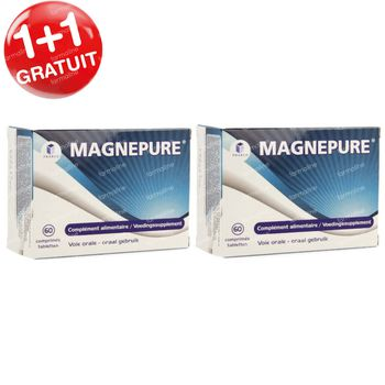 MagnePure 1+1 GRATUIT 2x60 comprimés