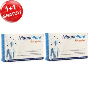 MagnePure Bio-Active 200 mg 1+1 GRATUIT 2x30 comprimés
