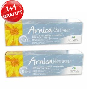 Lehning Arnica Gel Naturel 1+1 GRATUIT 2x50 g