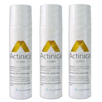 Actinica Lotion SPF50+ TRIO 3x80 g