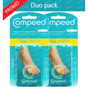 COMPEED Pansement Cors Medium DUO 2x10 pansements