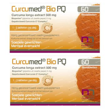 Curcumed Bio PQ DUO 2x60 tabletten
