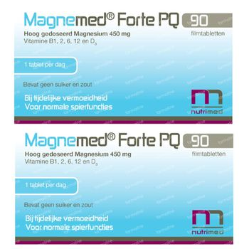 Magnemed Forte PQ DUO 2x90 tabletten