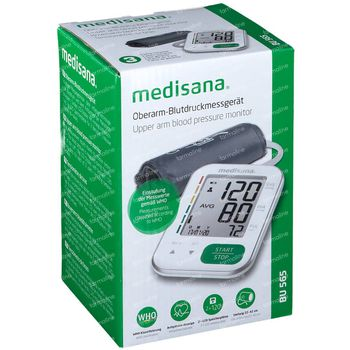 Medisana Tensiomètre Bras BU565 Blanc 1 pièce