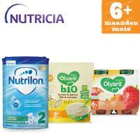 Nutricia Pack met Opvolgmelk, Granen en Eerste Fruitpotje voor Baby's 6 Maanden 1  set