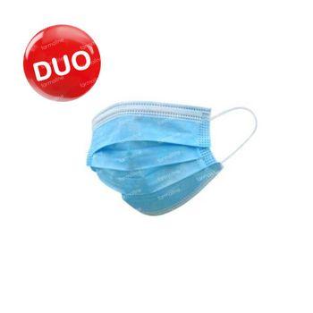 Masque de Protection 3 Couches DUO 2x50 pièces