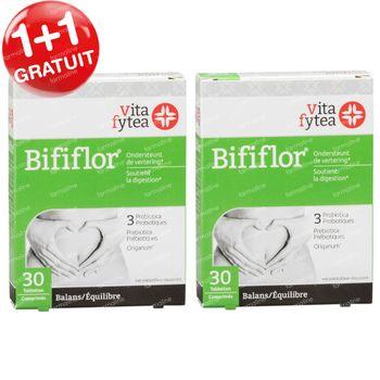 Vitafytea Bififlor Probiotiques & Prébiotiques 1+1 GRATUIT 2x30 comprimés