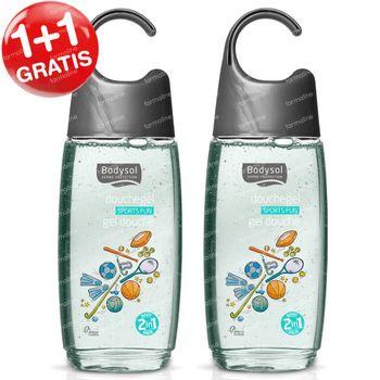 Bodysol Kids 2-in-1 Douchegel Sports Fun 1+1 GRATIS 2x250 ml
