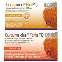 Curcumed Bio PQ + Curcumextra Forte PQ 60+60  tabletten