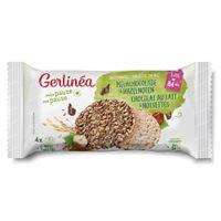 Gerlinéa Galette de Riz Chocolat au Lait et Noisettes 142 g