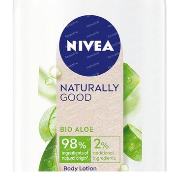 Nivea Naturally Good Body Lotion Bio Aloe 350 ml