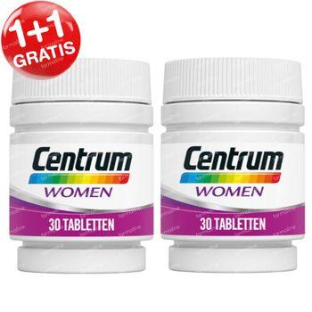 Centrum Women 1+1 GRATIS 2x30 tabletten