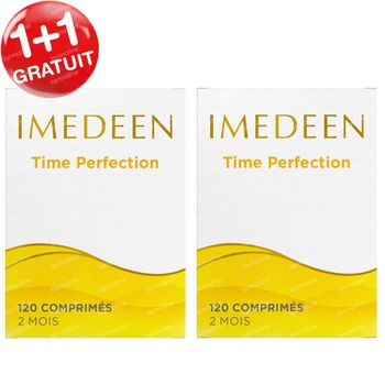 Imedeen Time Perfection 40+ 1+1 GRATUIT 2x120 comprimés