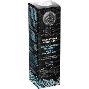 Natura Siberica Northern Black Cleansing Face Mask 80 ml