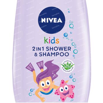 Nivea Kids 2 en 1 Gel Douche & Shampooing 250 ml