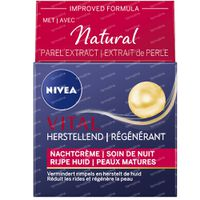 Nivea Vital Anti-Rimpel Herstellende Nachtcrème 50 ml