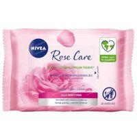 Nivea MicellAIR Micellar Rose Water Wipes 25 pièces