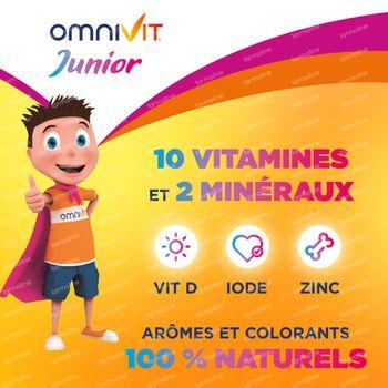 Omnivit Junior Gummies - Vitamine & Enfant DUO 2x30 pièces