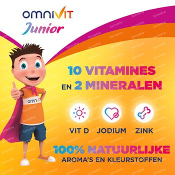 Omnivit Junior Gummies - Vitamine & Kind DUO 2x30 stuks