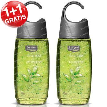 Bodysol Douchegel Detox 1+1 GRATIS 2x250 ml