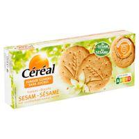 Céréal Biscuits Sésame saveur Vanille 132 g