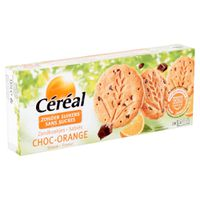 Céréal Zandkoekjes Choc-Orange 132 g