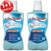 Aquafresh Bain de Bouche Complete Care Fresh Mint 1+1 GRATUIT 2x500 ml