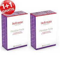Nutrisan FloraSan Forte 1+1 GRATIS 2x30  capsules
