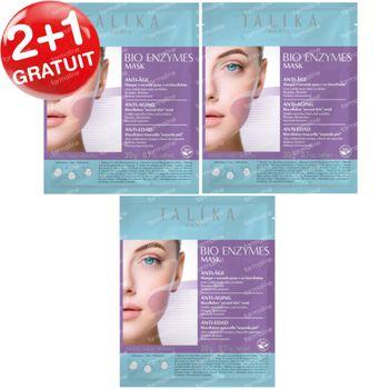 Talika Bio Enzymes Masque Anti-Age 2+1 GRATUIT 3 pièces
