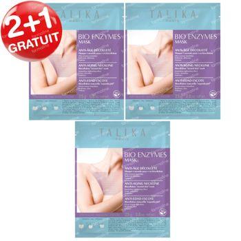 Talika Bio Enzymes Masque Décolleté 2+1 GRATUIT 3 pièces