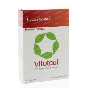 Vitotaal Blauwe bosbes 45 capsules